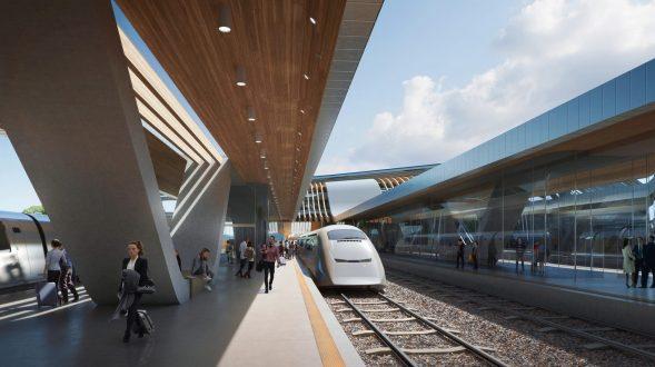 La nueva terminal de trenes de alta velocidad en Europa 11