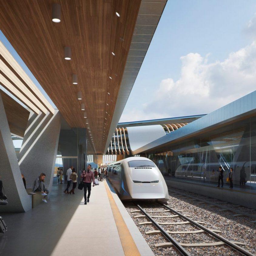 La nueva terminal de trenes de alta velocidad en Europa 6