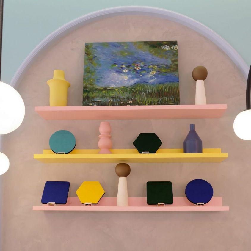 Una tienda con colores pasteles inspirados en una receta francesa 11
