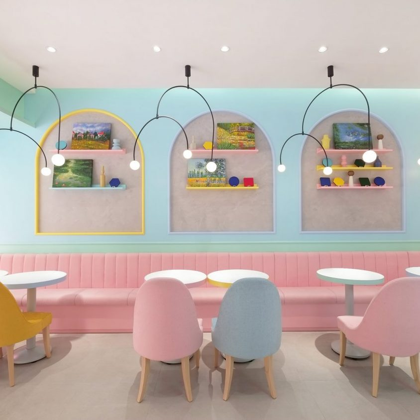 Una tienda con colores pasteles inspirados en una receta francesa 3