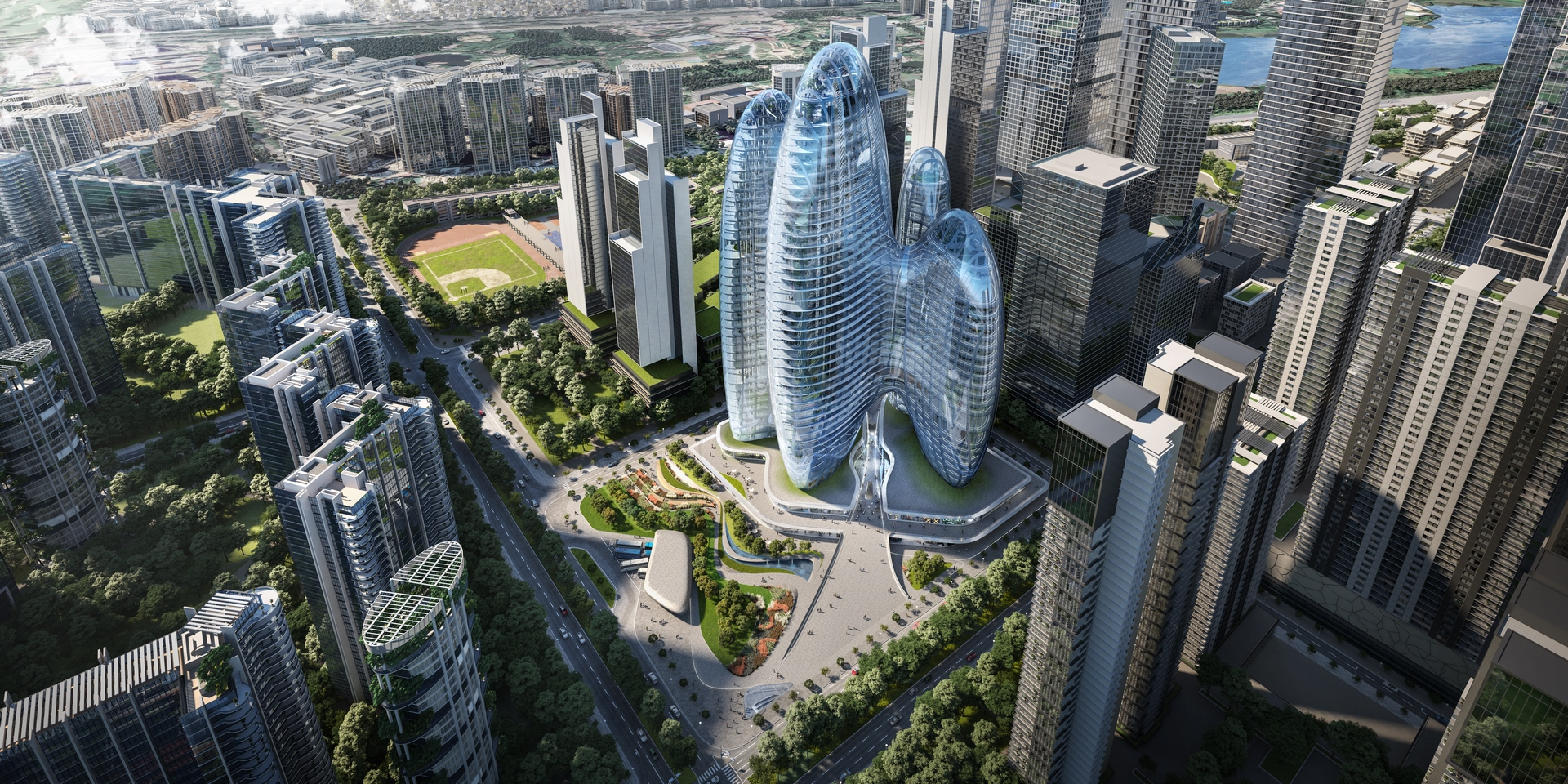 Oppo - Zaha Hadid Architects