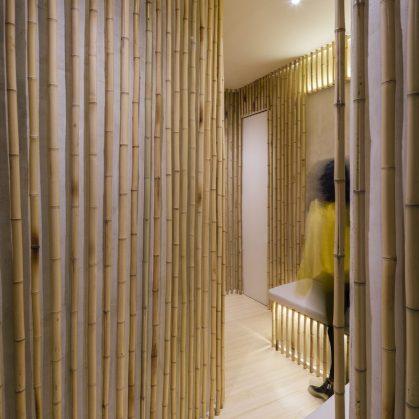 Una piel de bambú para un spa con hammam 13
