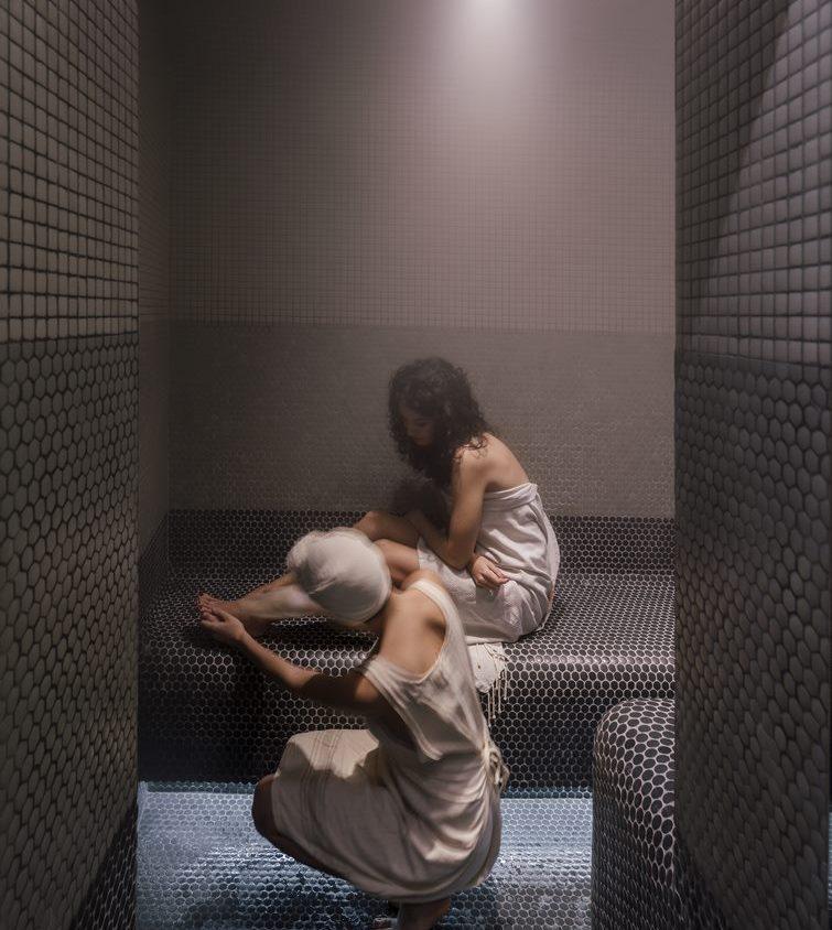 Una piel de bambú para un spa con hammam 17