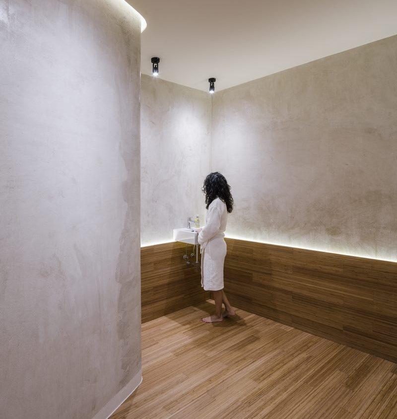 Una piel de bambú para un spa con hammam 15