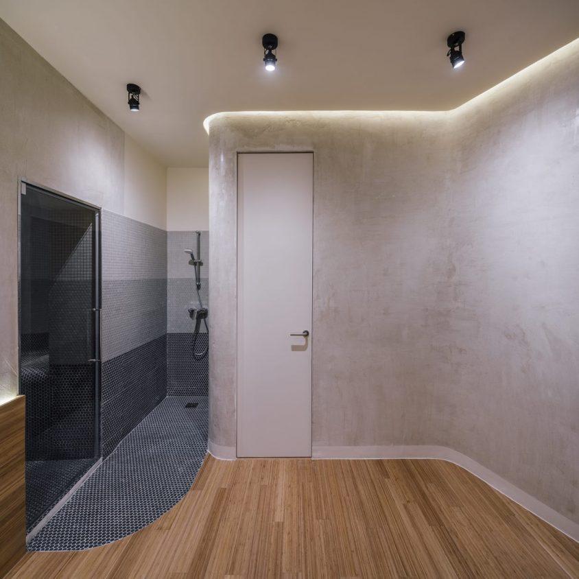 Una piel de bambú para un spa con hammam 16