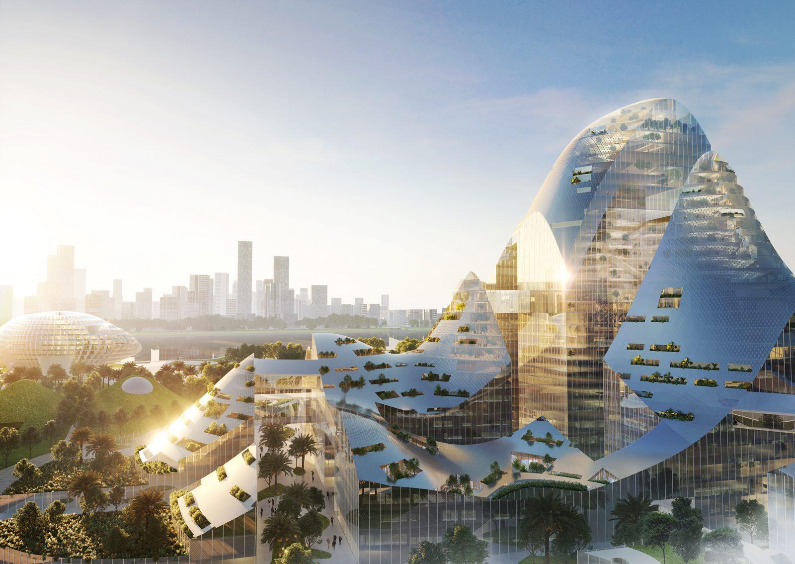 Ciudad inteligente - MVRDV
