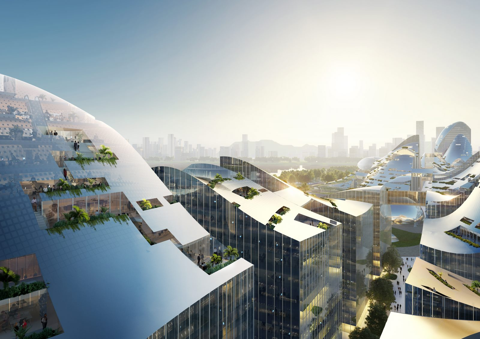 La tecnología y la vegetación al servicio de una ciudad inteligente 3