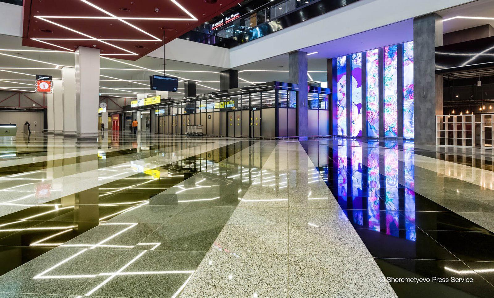 La historia y cultura rusa reflejada en el Aeropuerto de Moscú 16