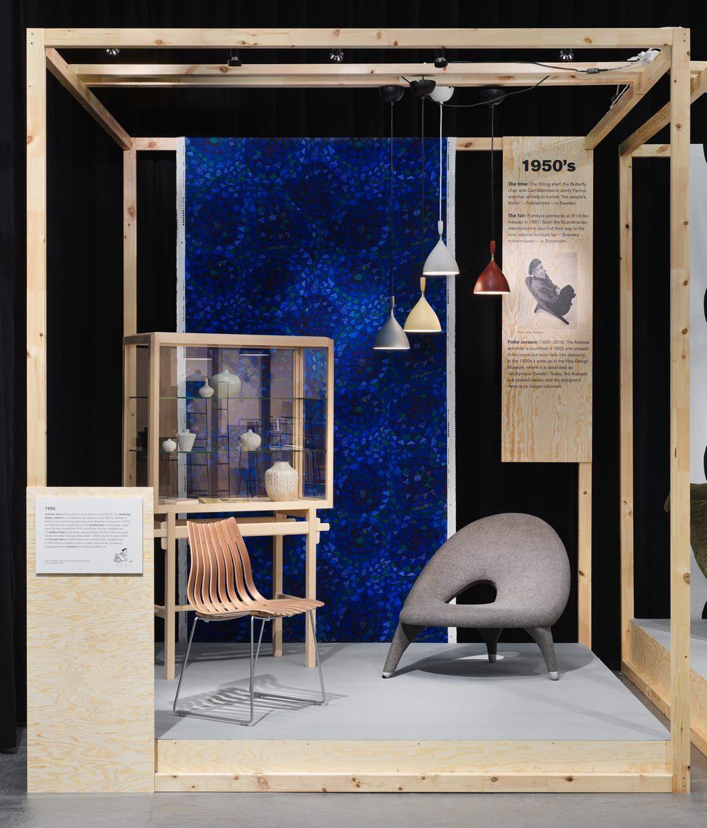 El diseño escandinavo de festejo en Stockholm Furniture & Light Fair 16