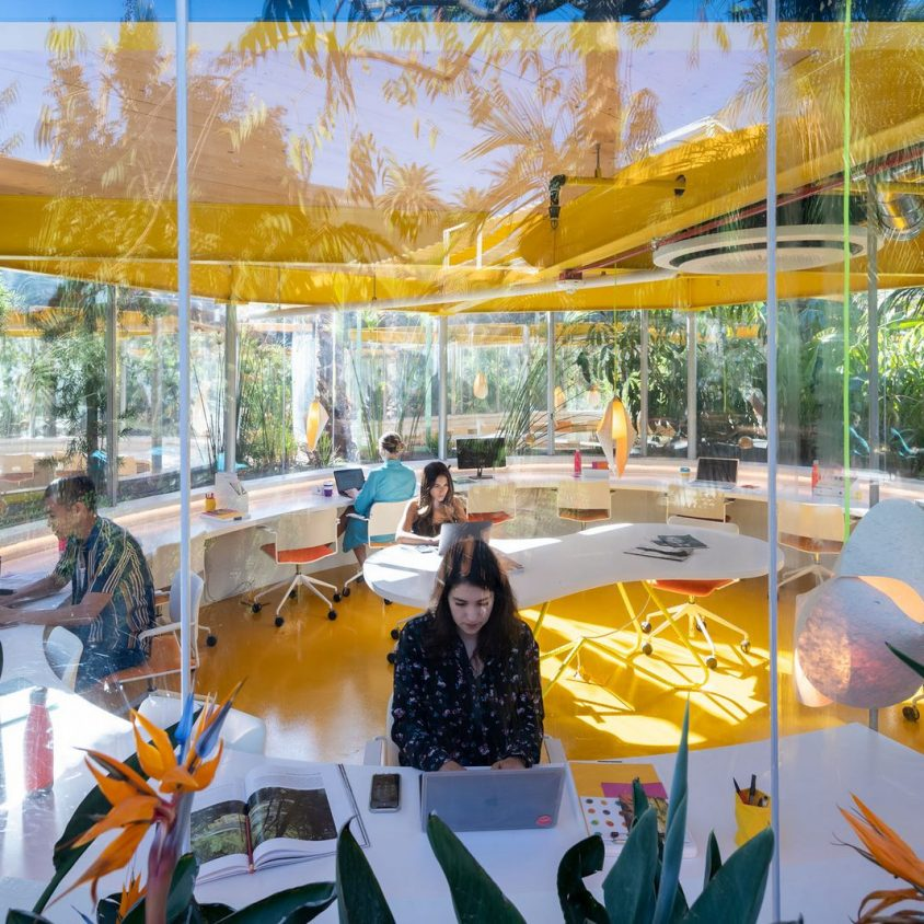 Second Home, un coworking en medio de la naturaleza 15