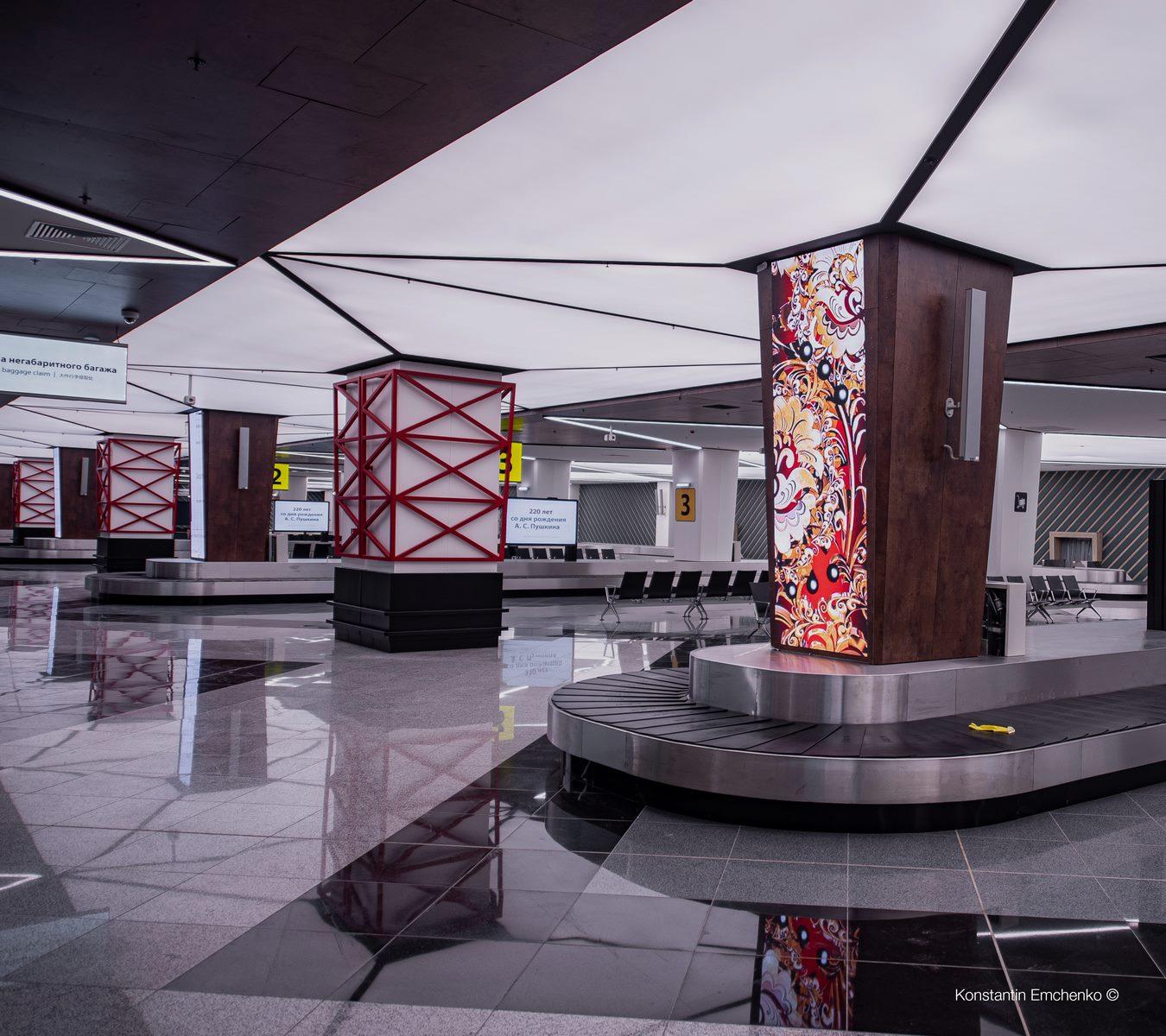 La historia y cultura rusa reflejada en el Aeropuerto de Moscú 12