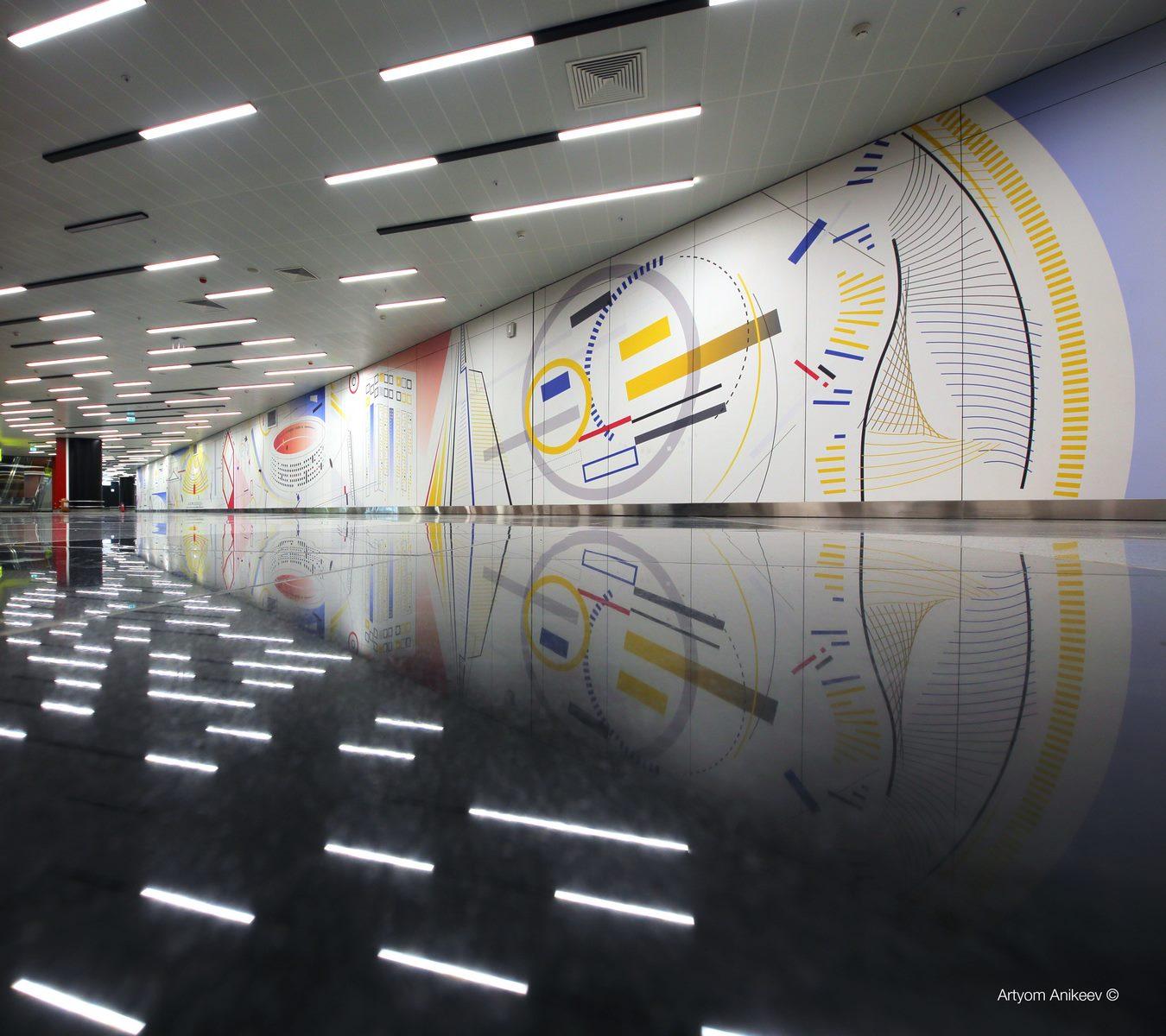 La historia y cultura rusa reflejada en el Aeropuerto de Moscú 9