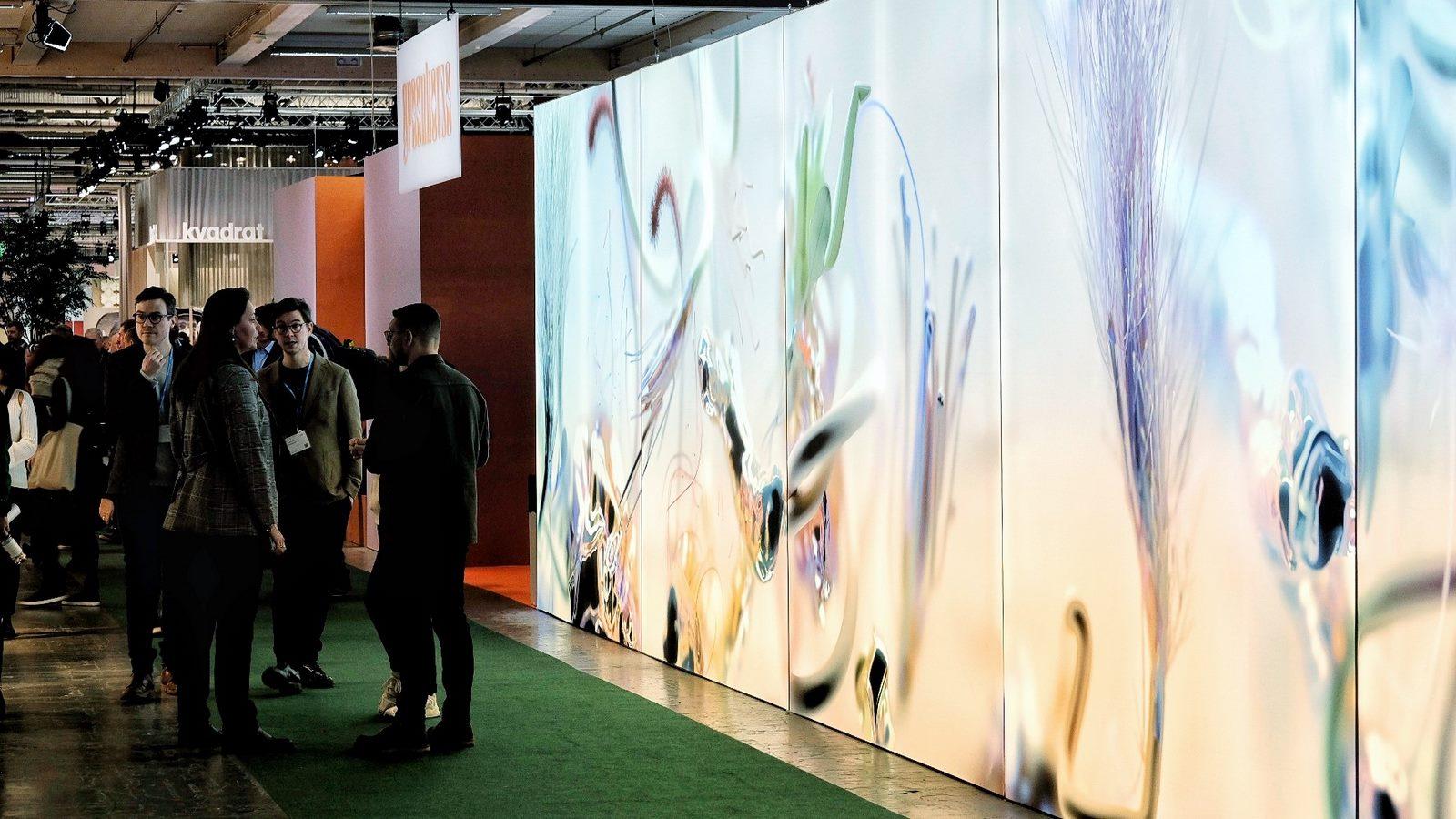 El diseño escandinavo de festejo en Stockholm Furniture & Light Fair 22
