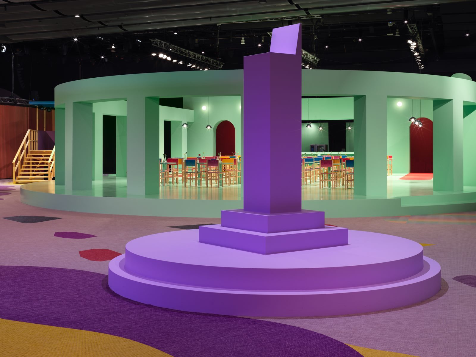 El diseño escandinavo de festejo en Stockholm Furniture & Light Fair 1