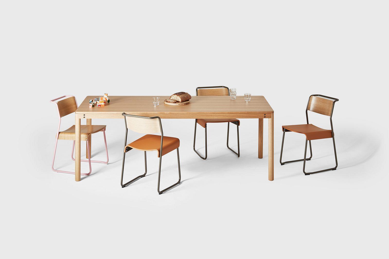 Opciones de Mesas y sillas para comedor 6