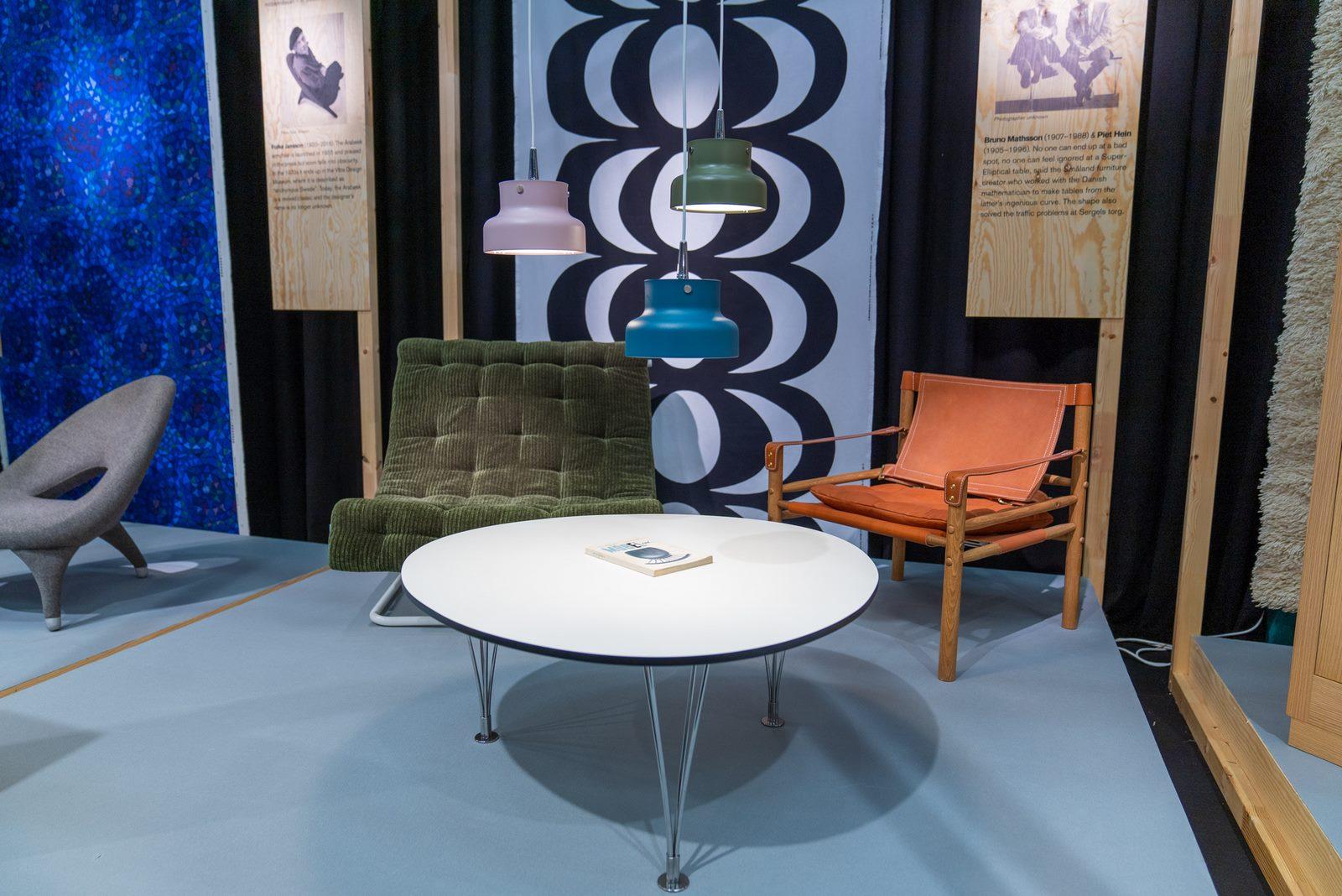 El diseño escandinavo de festejo en Stockholm Furniture & Light Fair 4