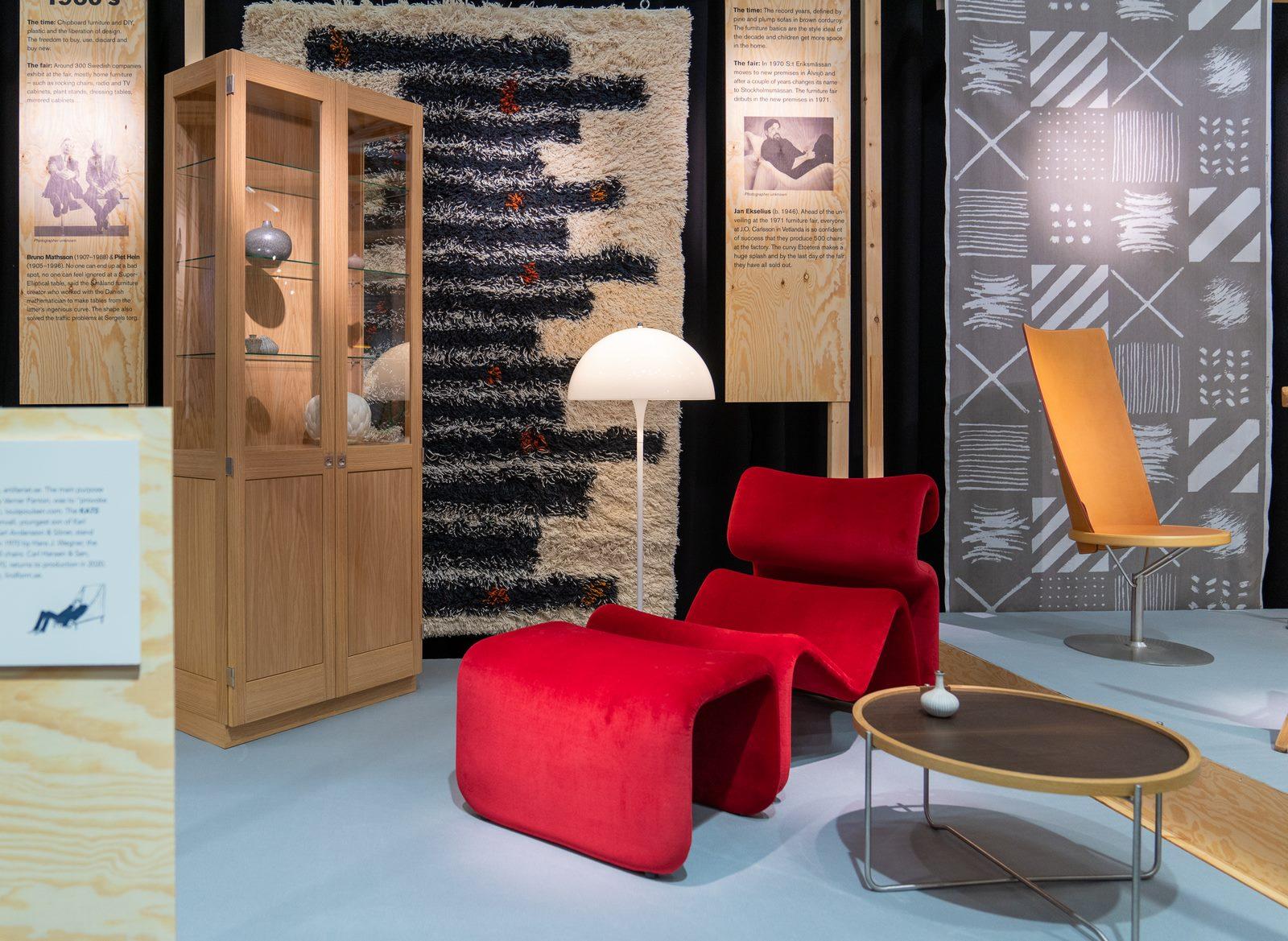 El diseño escandinavo de festejo en Stockholm Furniture & Light Fair 13