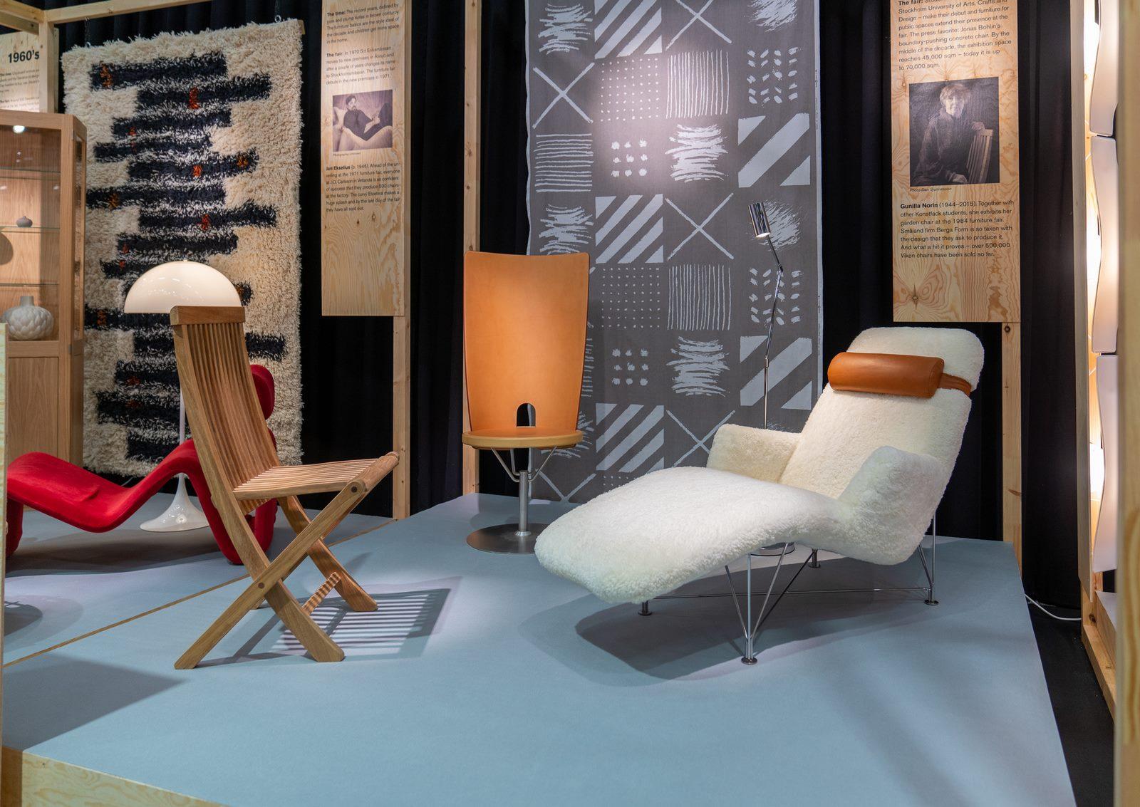 El diseño escandinavo de festejo en Stockholm Furniture & Light Fair 14