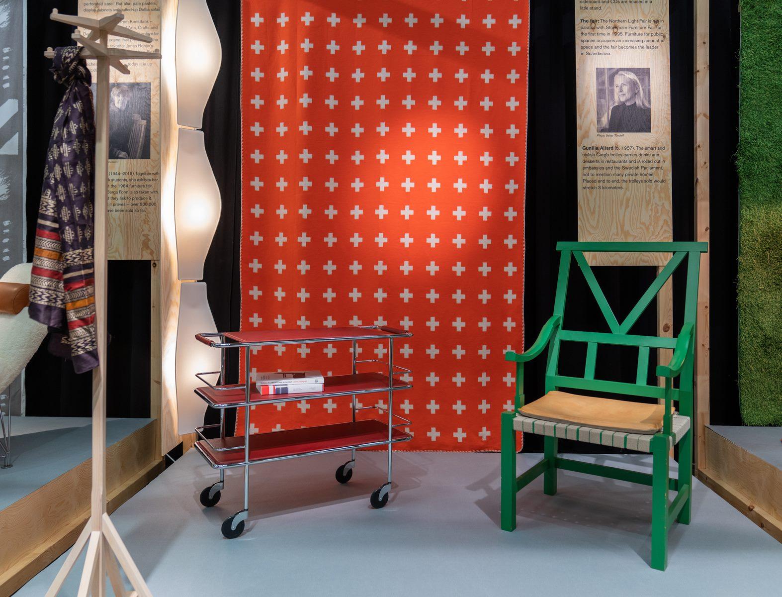 El diseño escandinavo de festejo en Stockholm Furniture & Light Fair 5