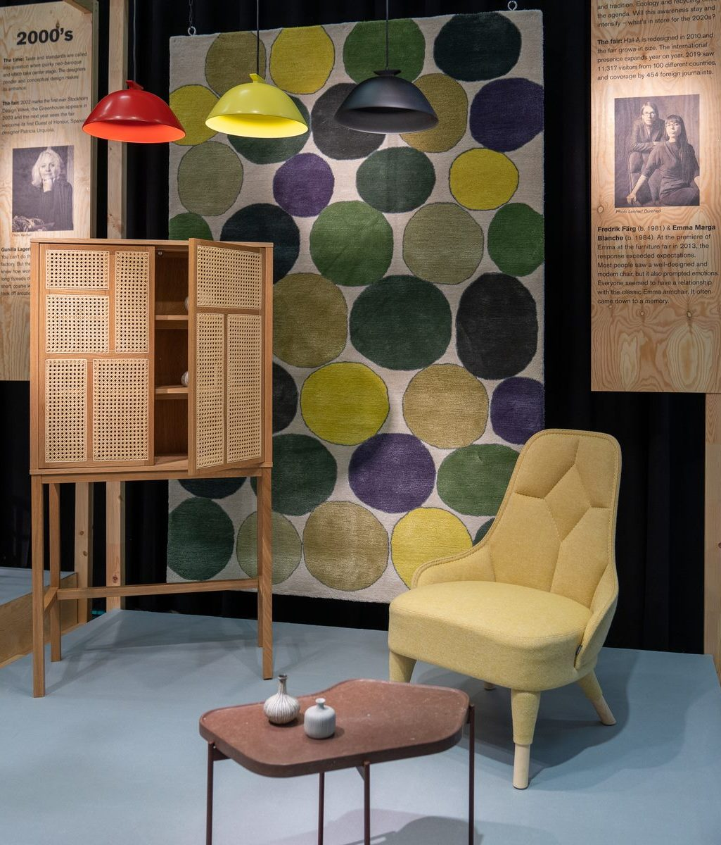 El diseño escandinavo de festejo en Stockholm Furniture & Light Fair 17