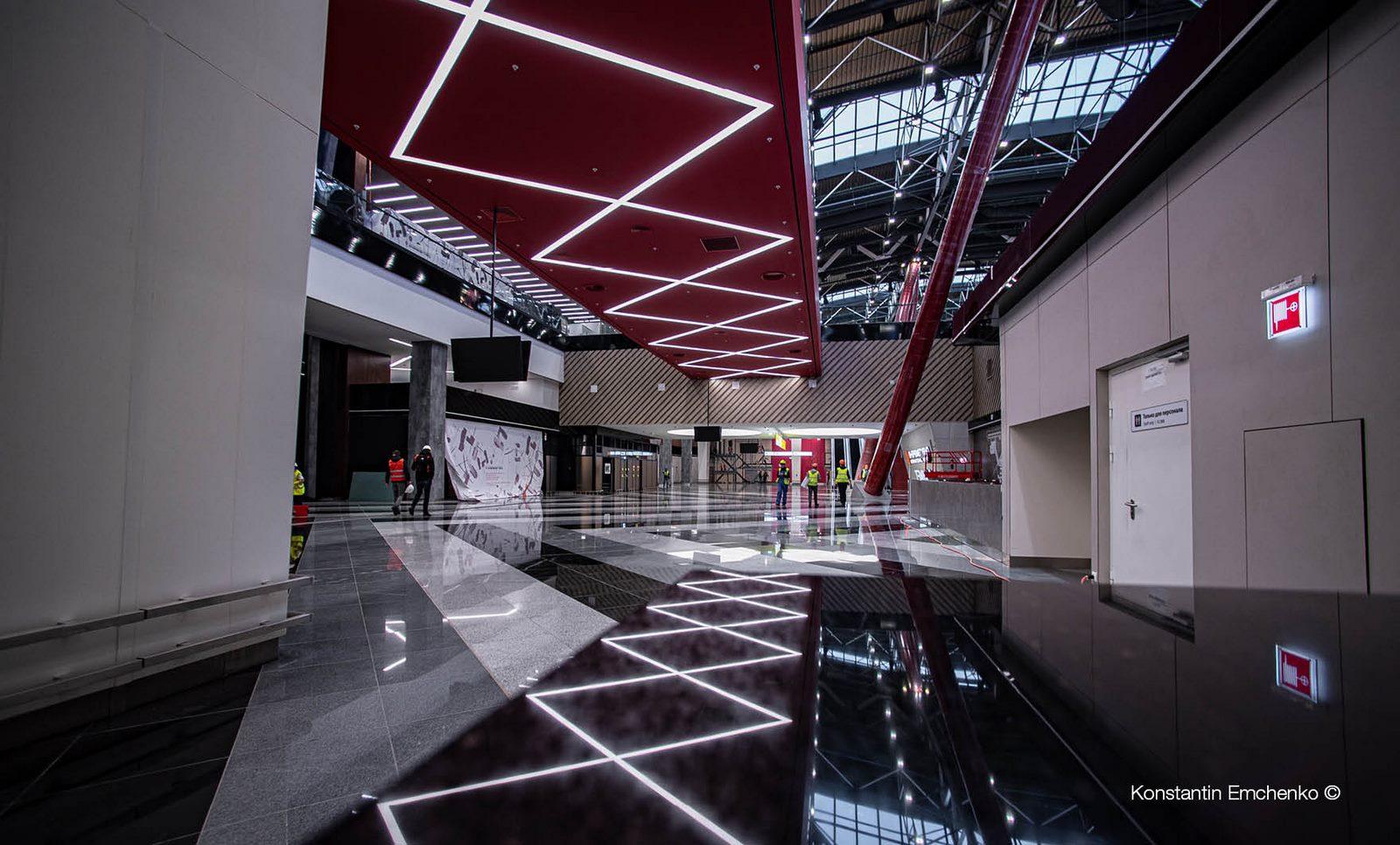 La historia y cultura rusa reflejada en el Aeropuerto de Moscú 11