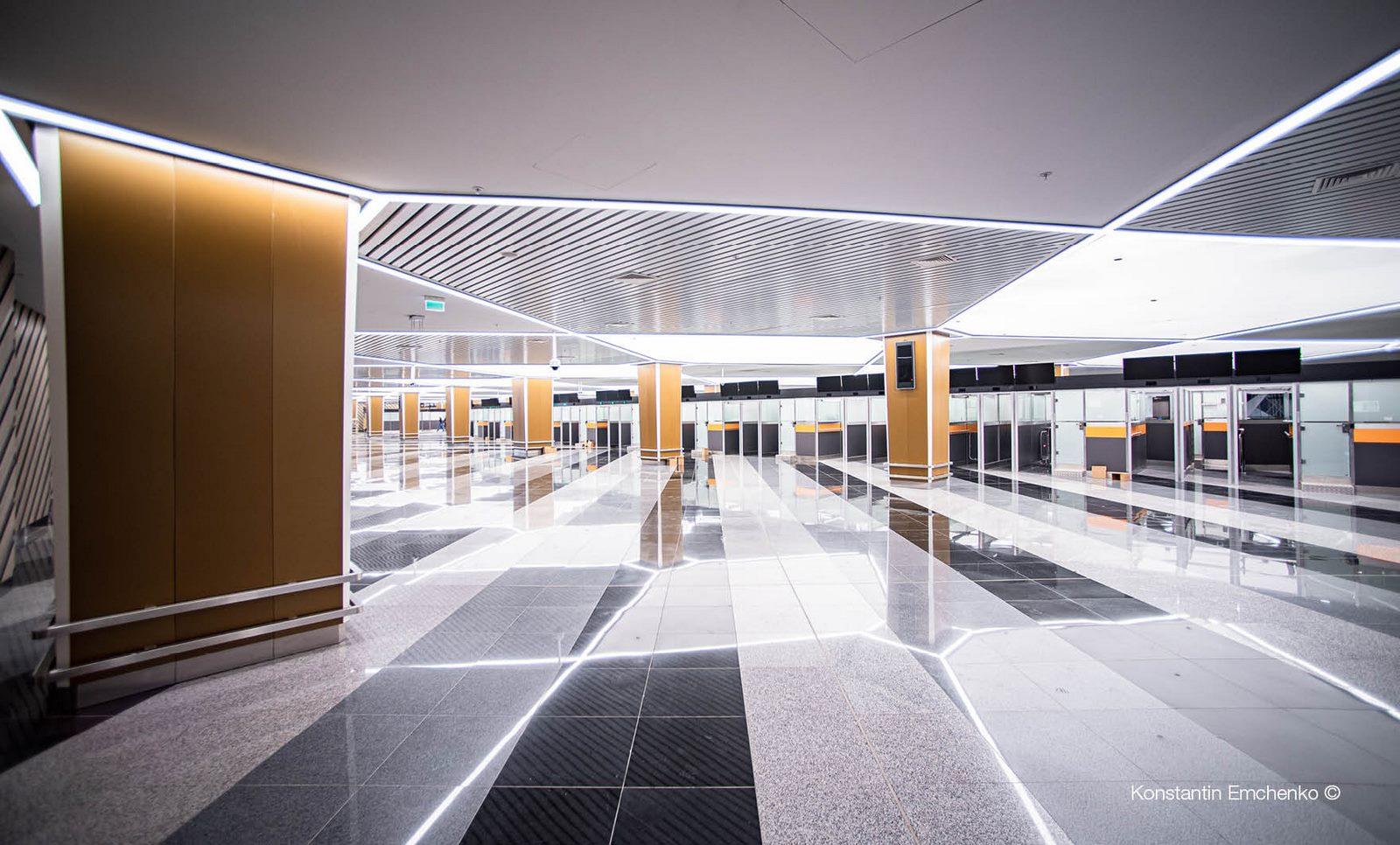 La historia y cultura rusa reflejada en el Aeropuerto de Moscú 13