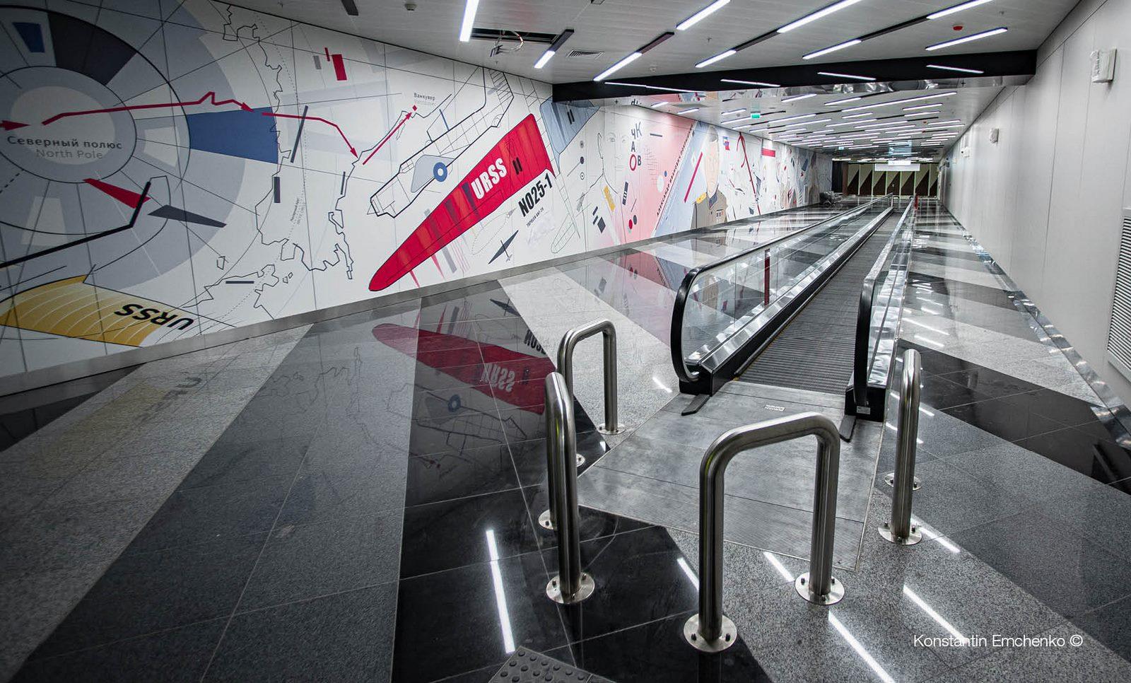 La historia y cultura rusa reflejada en el Aeropuerto de Moscú 7
