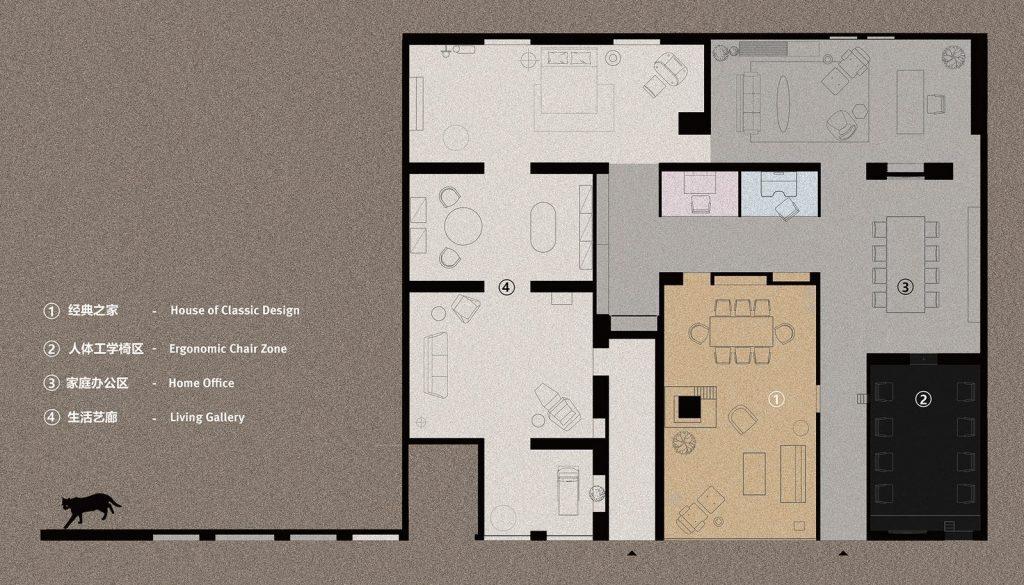 Showroom de la casa de Yi 2