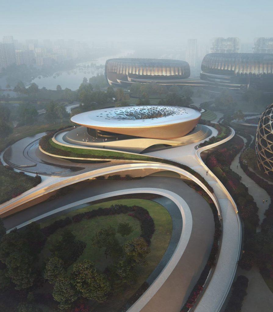 Unicorn Island Start-Up - Zaha Hadid Architects 3