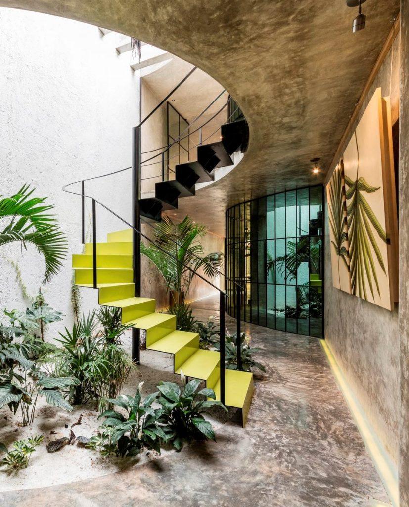 Recorrido por los espacios en Casa Kaleidos 19