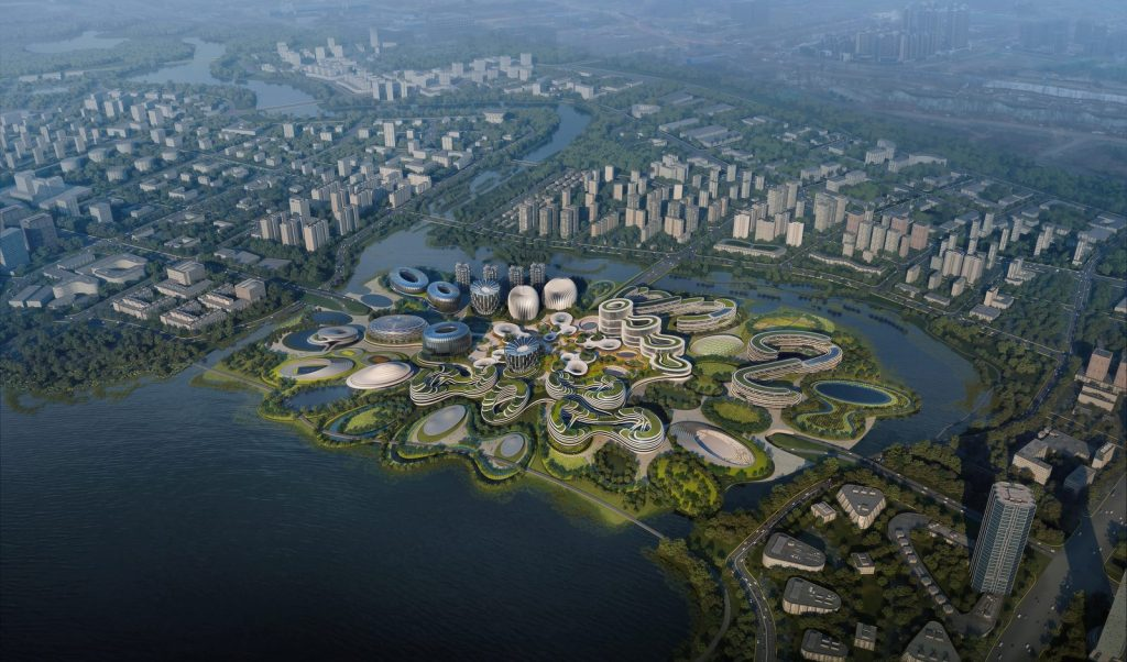 Unicorn Island Start-Up - Zaha Hadid Architects 2