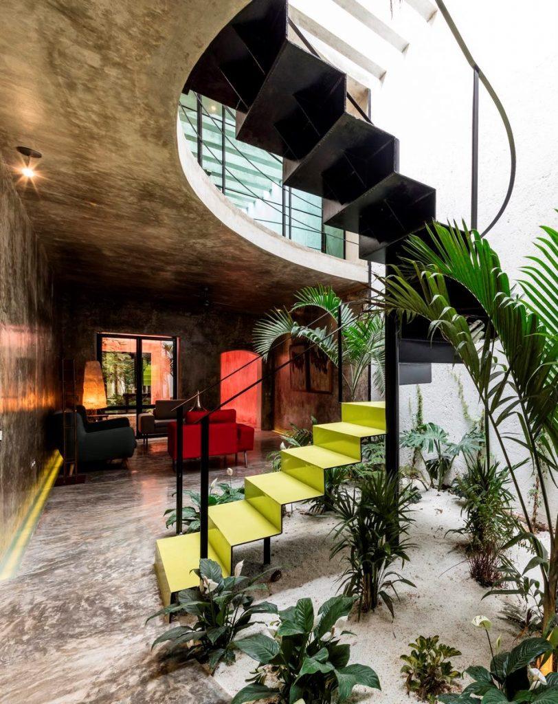 Recorrido por los espacios en Casa Kaleidos 20