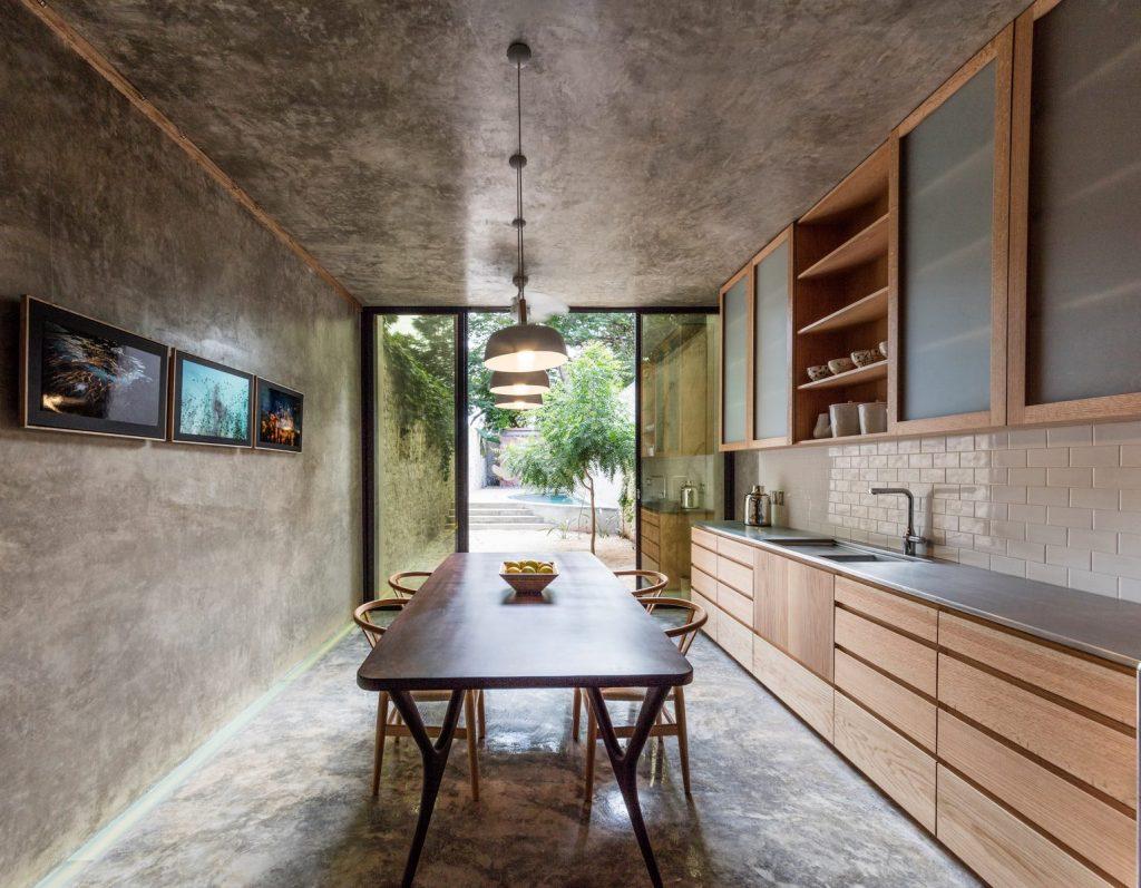 Recorrido por los espacios en Casa Kaleidos 5