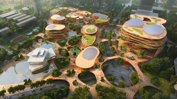 MVRDV gana la competencia con Shenzhen Terraces, una sala de estar urbana de varios niveles en Shenzhen, China 2