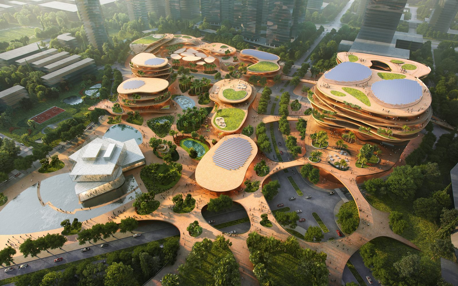 MVRDV gana la competencia con Shenzhen Terraces, una sala de estar urbana de varios niveles en Shenzhen, China 9
