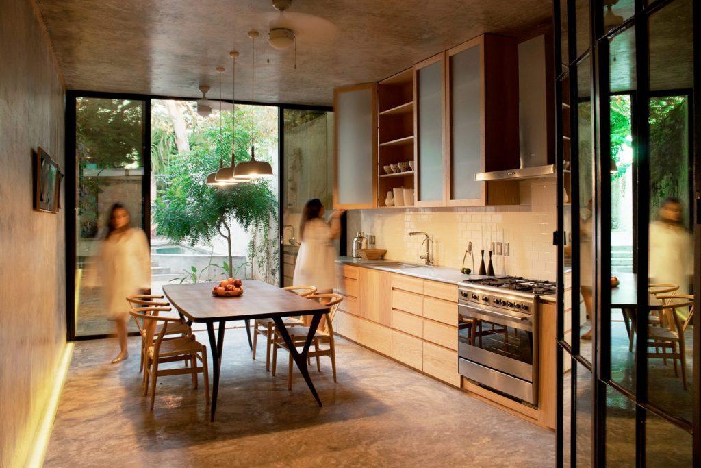 Recorrido por los espacios en Casa Kaleidos 6
