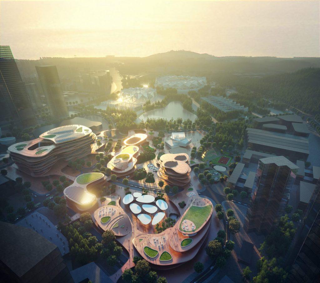 MVRDV gana la competencia con Shenzhen Terraces, una sala de estar urbana de varios niveles en Shenzhen, China 1