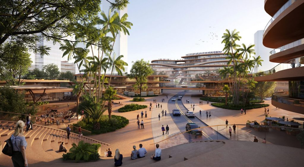 MVRDV gana la competencia con Shenzhen Terraces, una sala de estar urbana de varios niveles en Shenzhen, China 3