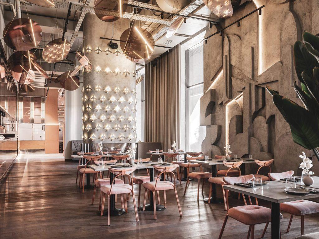 Café Polyot en Khodynka Field 41