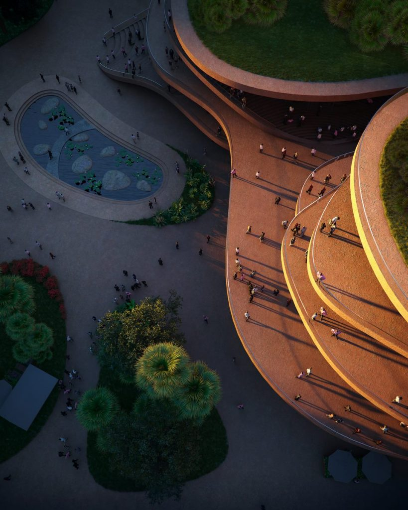 MVRDV gana la competencia con Shenzhen Terraces, una sala de estar urbana de varios niveles en Shenzhen, China 5