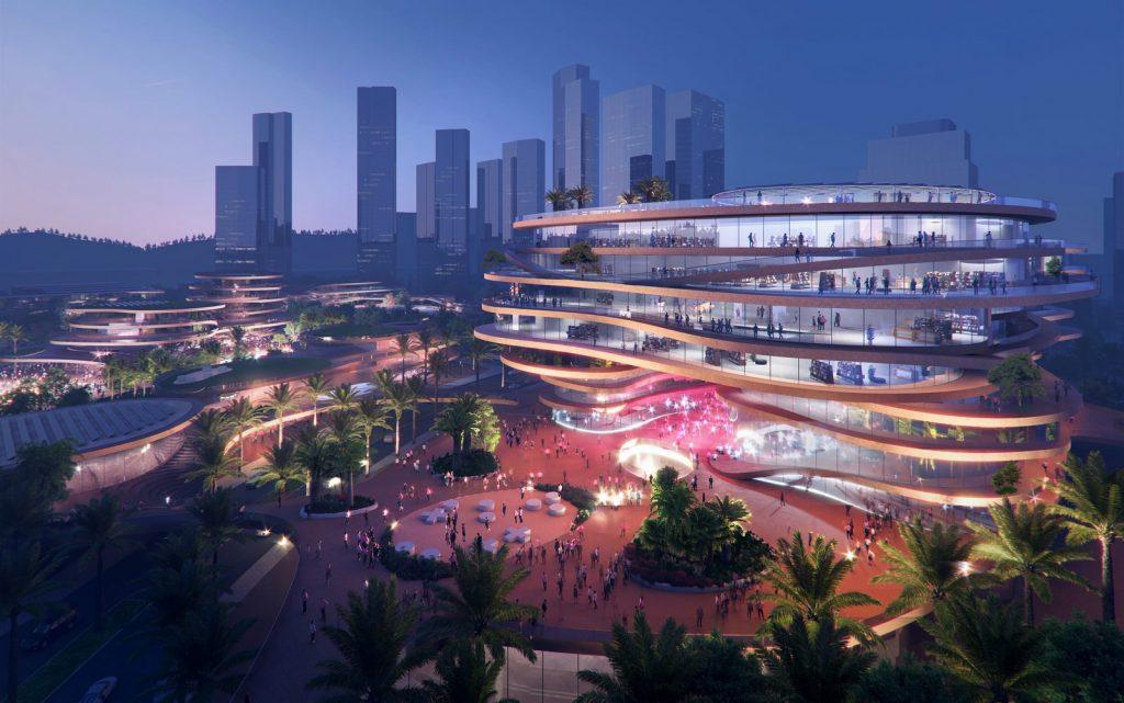 MVRDV gana la competencia con Shenzhen Terraces, una sala de estar urbana de varios niveles en Shenzhen, China 7