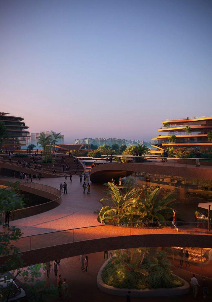 MVRDV gana la competencia con Shenzhen Terraces, una sala de estar urbana de varios niveles en Shenzhen, China 6