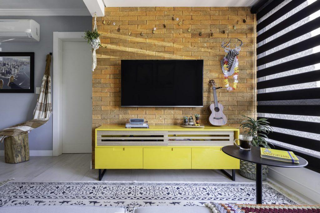 Una casa de playa en un departamento de ciudad por W4 Arquitetura 10