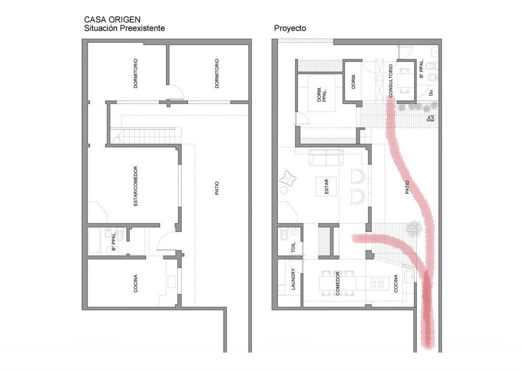 Ampliar los espacios y agregar valor a Casa Origen 6