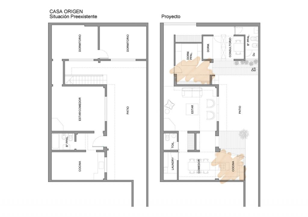 Ampliar los espacios y agregar valor a Casa Origen 7