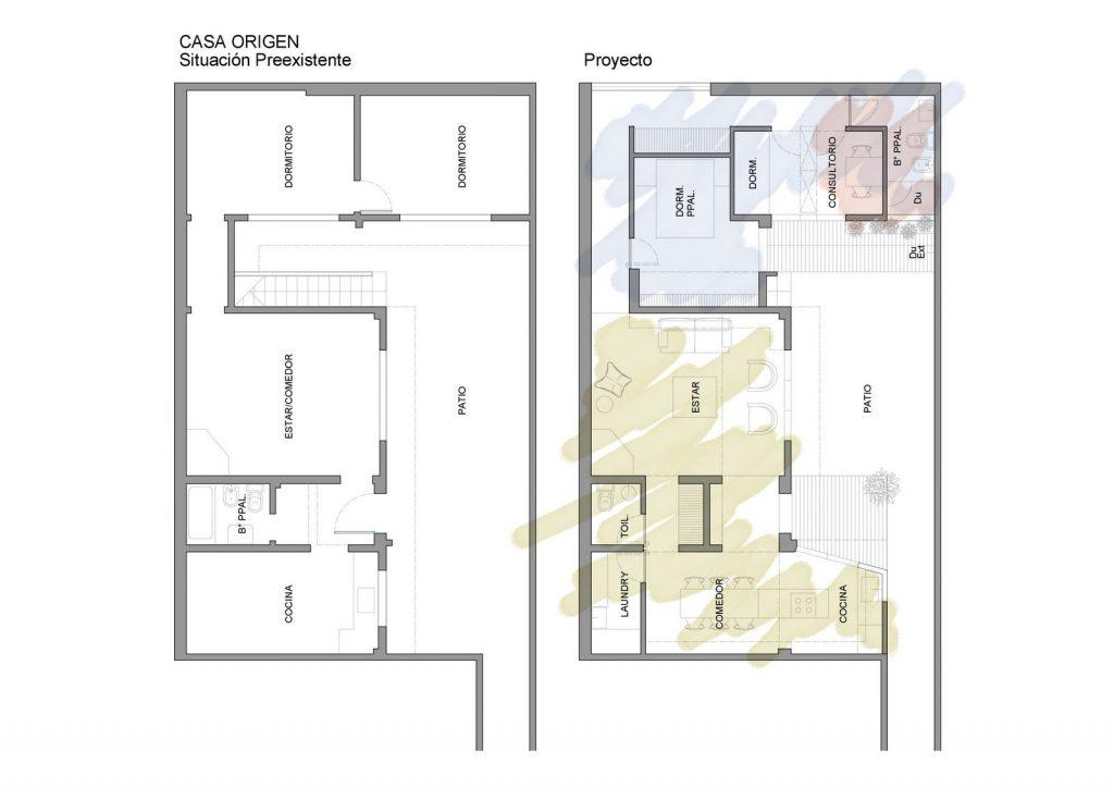 Ampliar los espacios y agregar valor a Casa Origen 8