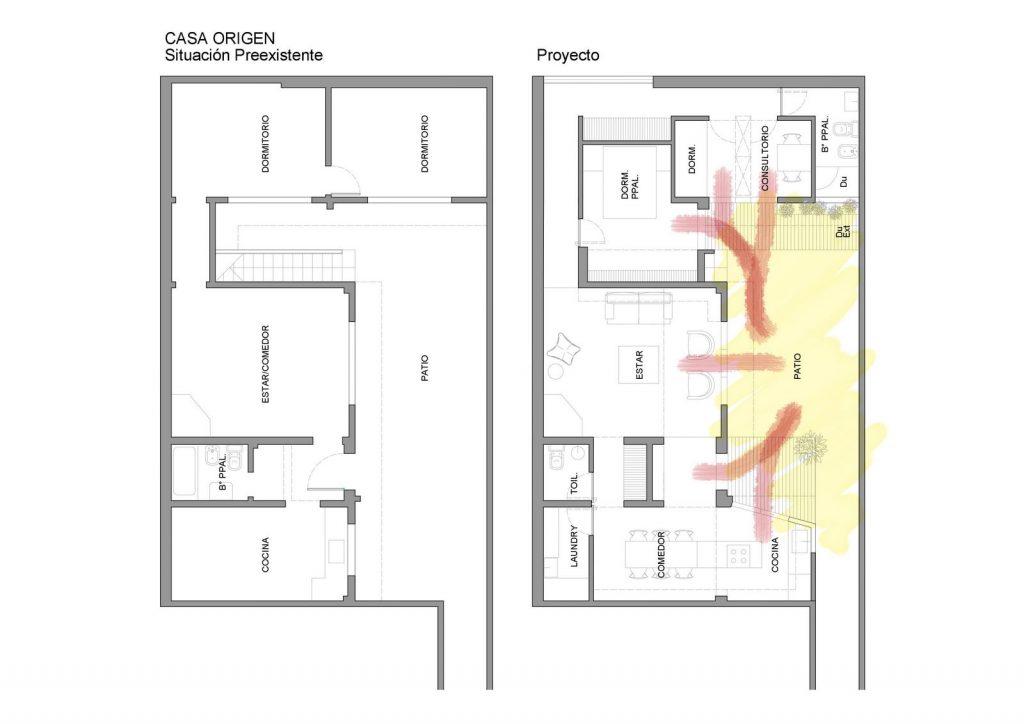 Ampliar los espacios y agregar valor a Casa Origen 9