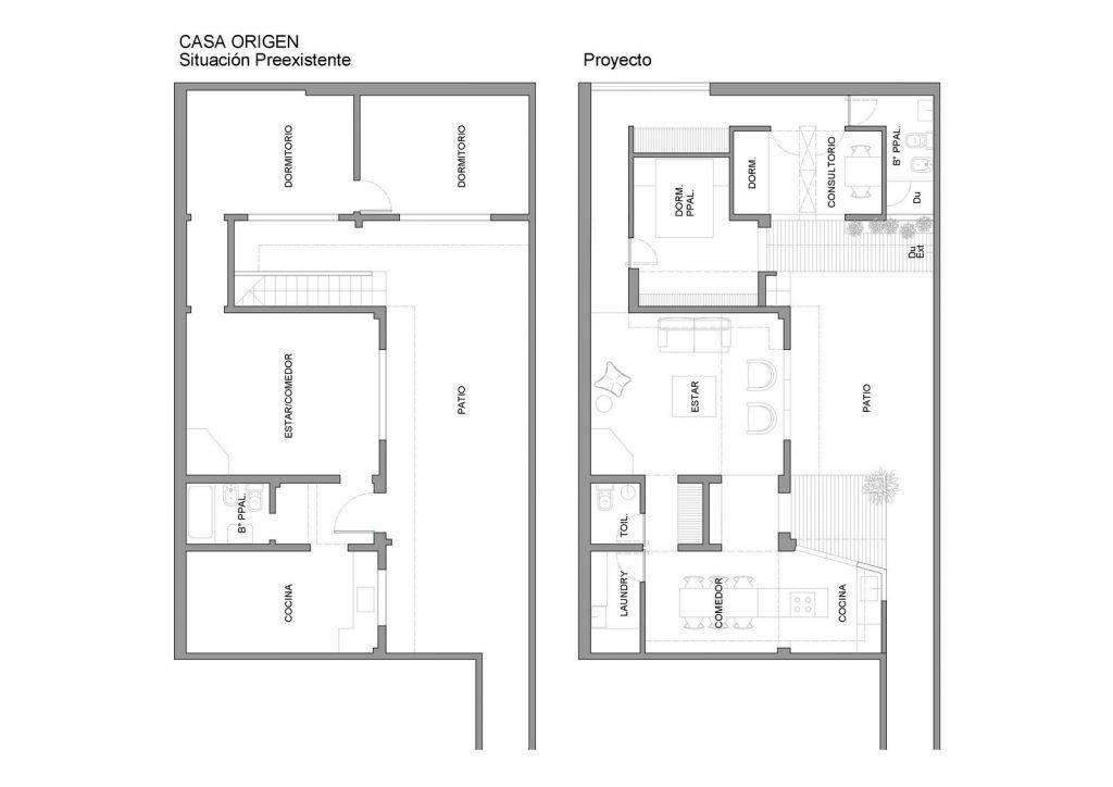 Ampliar los espacios y agregar valor a Casa Origen 5