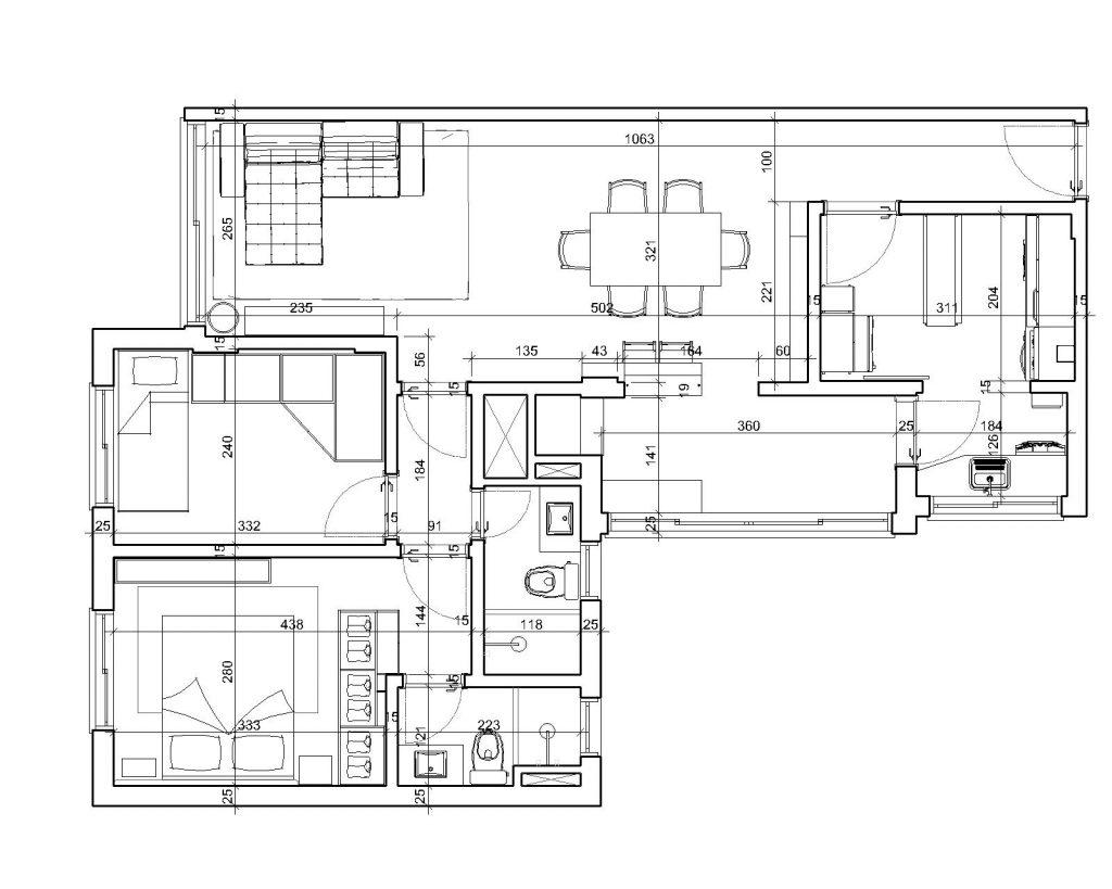 Una casa de playa en un departamento de ciudad por W4 Arquitetura 23