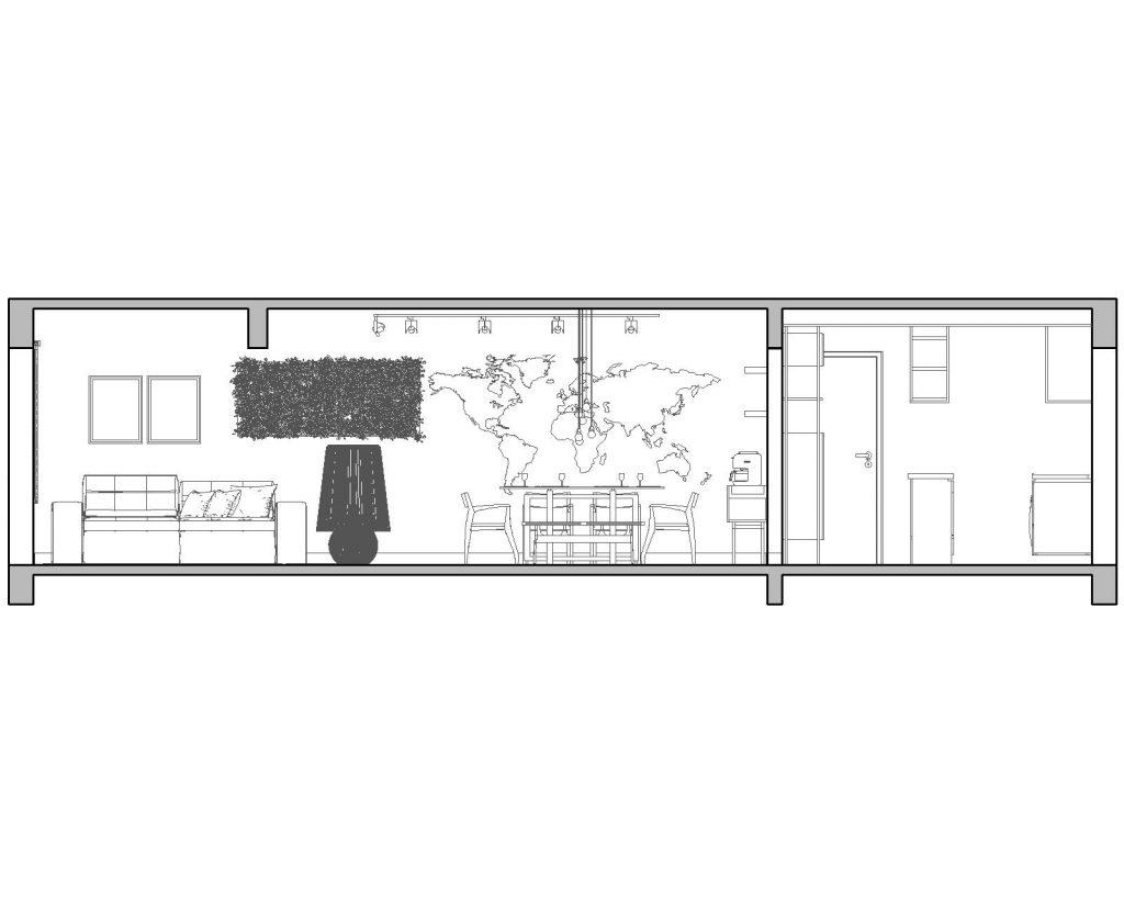 Una casa de playa en un departamento de ciudad por W4 Arquitetura 21